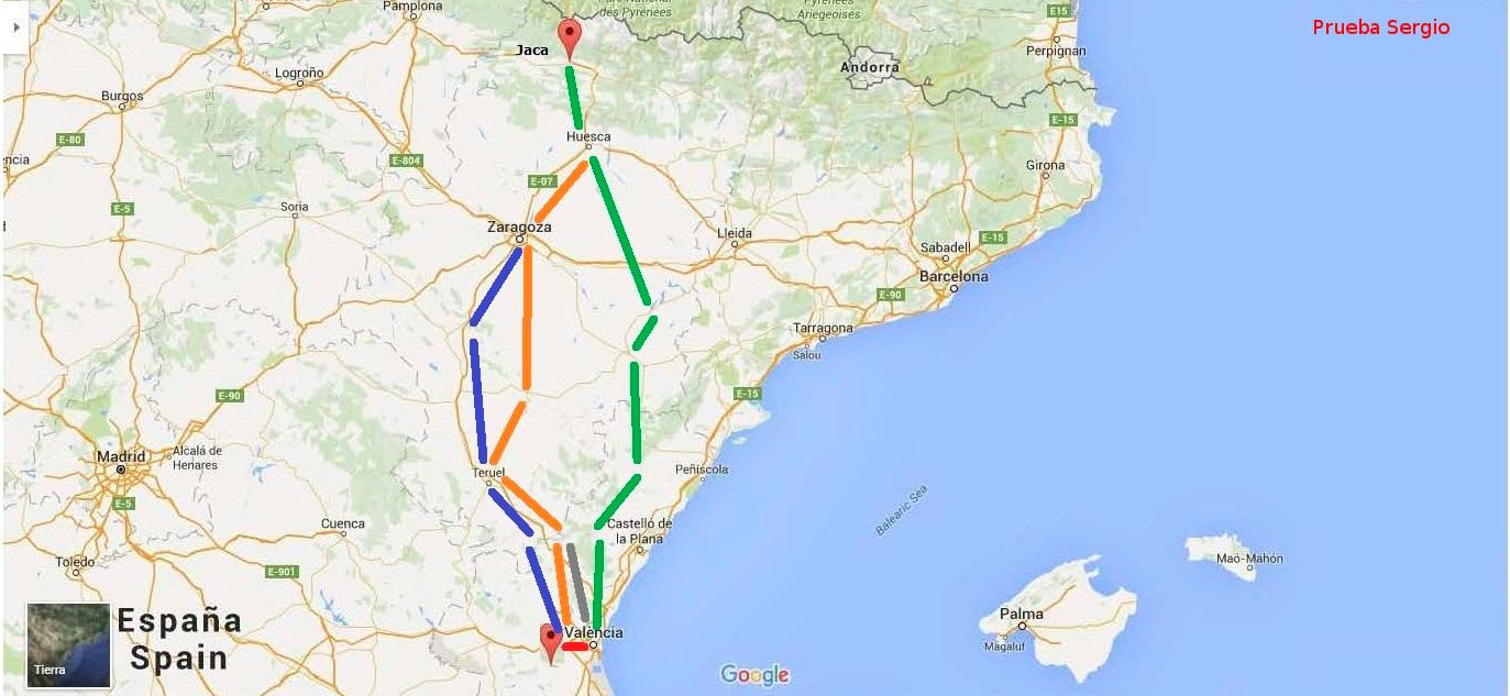 Mapa de Caminos